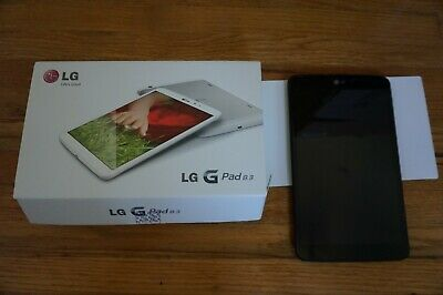 LG G Pad 8.3 LG-V500 16GB Wi-Fi, 8.3 in Black Tablet Flashed to Android 6.0.1