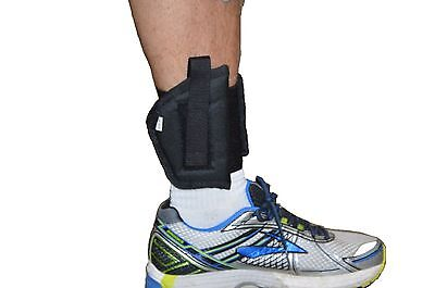 Protech Concealment Right Handed Ankle Holster Fits Taurus PT111 PT140 G1 & (1 Cordura Ankle Holster)