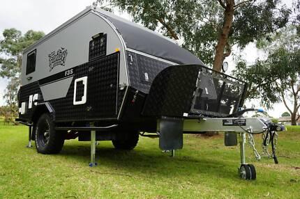 Fantasy 13ft Off Road Caravan Pop Top Camper Hybrid Shower Ensuit Hamilton Brisbane North East Preview