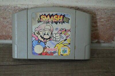 Jeu Game Super Smash bros Mario console Nintendo 64 N64 version PAL fonctionne