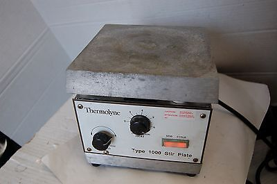 Thermolyne Type 1000 Stirrer Hotplate Stirring Hot Plate Heating Stirring