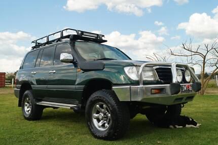 Toyota LandCruiser 100 series Wagon Toowoomba 4350 Toowoomba City Preview