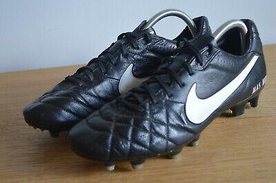 Nike Tiempo Nike ID Football Boots Size 9 FG Black