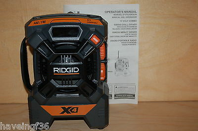 Brand New Ridgid X4 18v Portable  Radio  R84084 on Rummage