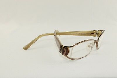 New Helium Eyewear Rx Frame HE 4113r  Size: 50-16-135 Color: Brown