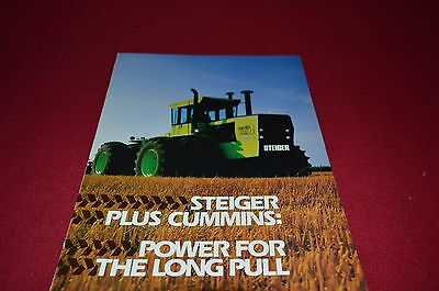 Steiger Cummins Powered Tractor For 1980 Dealer's Brochure YABE7