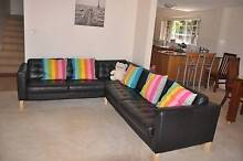 100% leather sofa !   oversea moving ! All furniture FOR SALE!!! Gordon Ku-ring-gai Area Preview