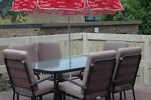 Outdoor Dinning Set with 6 Chairs Wantirna Knox Area Preview