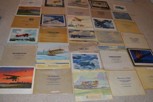 18 COMPLETE CHARLES H. HUBBELL LITHOGRAPH SETS!!!