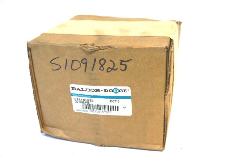 NEW DODGE 455716 QD SHEAVE 6A4.6B5.0-SD