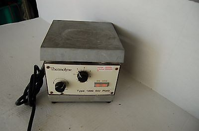Thermolyne Type 1000 Hotplate Stirrer Magnetic Hot Plate Aluminium 6x6