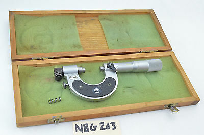 Mahr Micrometer Comparator 0 - 25mm Gage In Box Nice