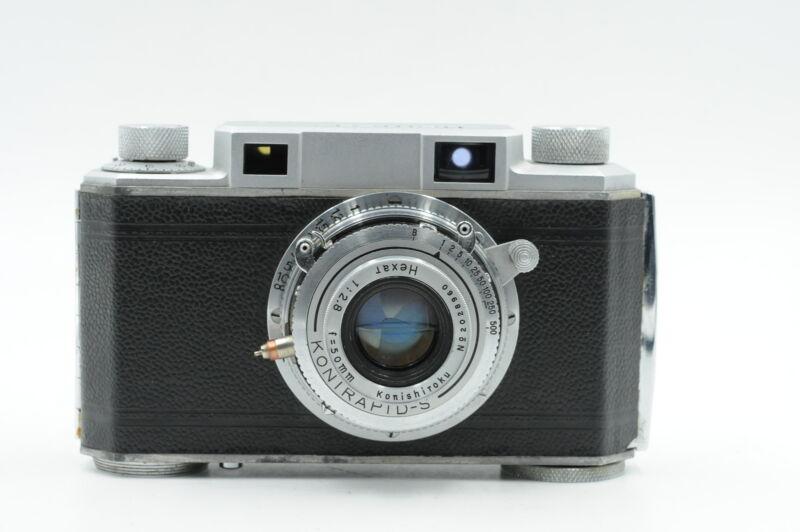 Konica I Film Camera w/50mm f2.8 Hexanon Lens MIOJ (1950) #137