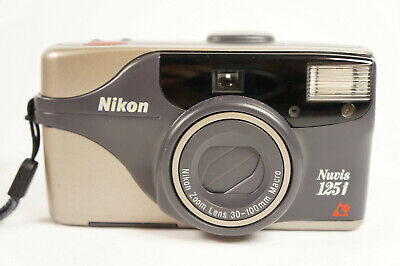 Vintage Nikon Nuvis 125i Point and Shoot APS Film Camera Tested