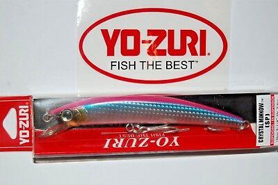 """Yo-Zuri R1134-HCA Crystal Minnow Deep Diver Candy 90mm 3 1//2/"""" Lure"""