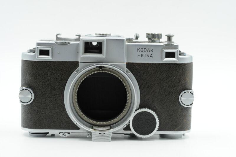 Kodak Ektra 35mm Rangefinder Camera Body (1941-48) [Parts/Repair] #595
