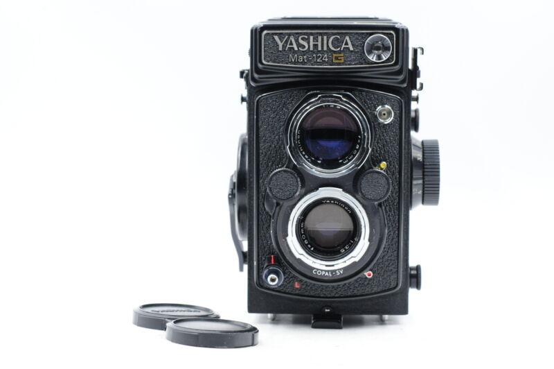 Yashica Mat 124 G TLR Medium Format Film Camera w/80mm Lens 124G #175
