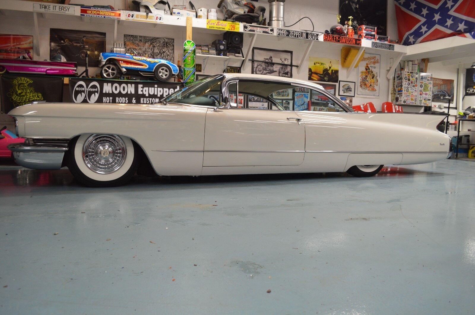 1960 Cadillac DeVille Series 62 1960 Cadillac Series 62 Coupe Bagged AirRide Original
