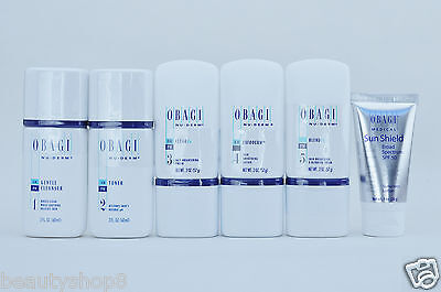 Obagi Nu-Derm Fx System, Travel Kit of 6 items for Normal to Dry Skin