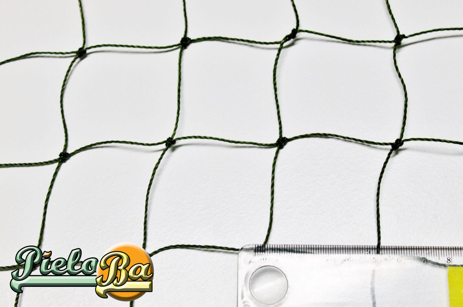 Katzenschutznetz Balkonnetz Katzennetz Höhe 3,00 m  oliv  Masche 5 cm Meterware