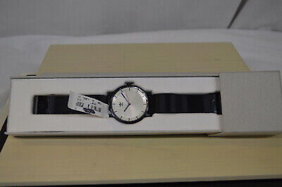 New In Box Adidas DISTRICT_M1 Black SILVER SUNRAY/RED Men's Wrist WATCH CK3125