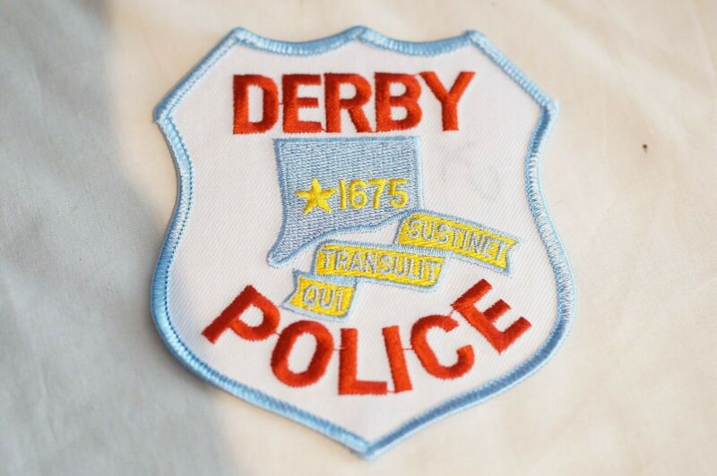 US Derby Connecticut Police Patch