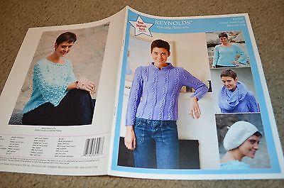 Reynolds Great American Merino Silk Knitting Pattern Leaflet 82507