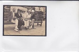 VINTAGE PHOTO NOT A POSTCARD SHANKLIN SEAFRONT, MOORMANS BATHS, ISLE OF WIGHT