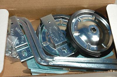 "WALD 742 TRAINING WHEELS - 16"" to 26"" Steel Kids Adults Balance Bike - NEW!"