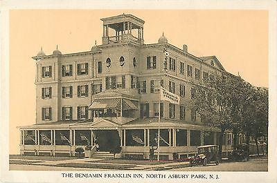 A View Of The Benjamin Franklin Inn  20S Auto  North Asbury Park Nj