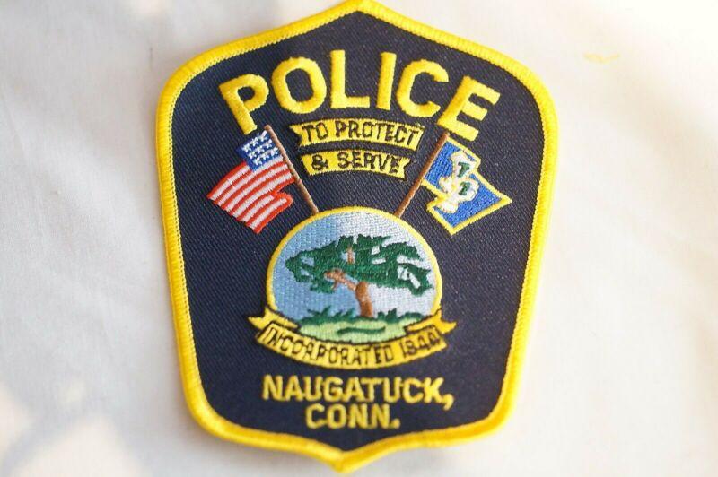 US Naugatuck Connecticut Police Patch