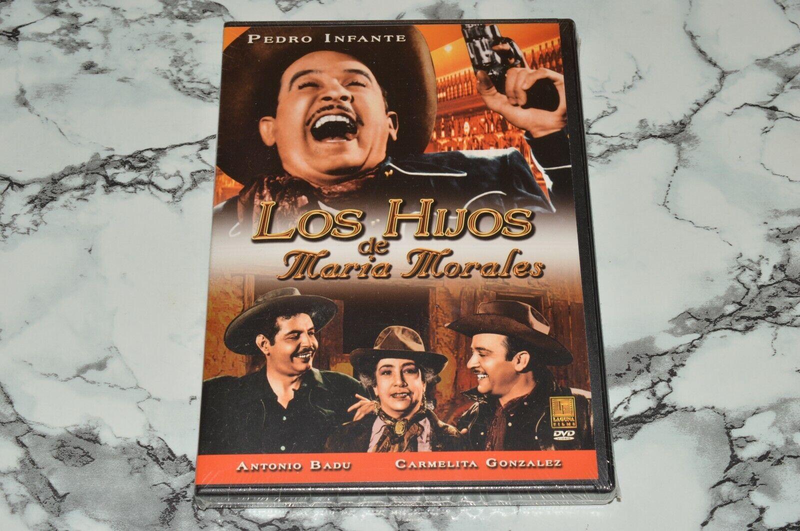 NEW - Los Hijos De Maria Morales DVD, 2005 -- Pedro Infante Antonio Badu - $16.91