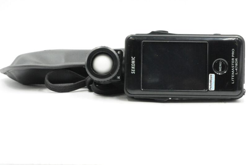 Sekonic L-478DR Litemaster Pro Ambient/Flash Light Meter #294