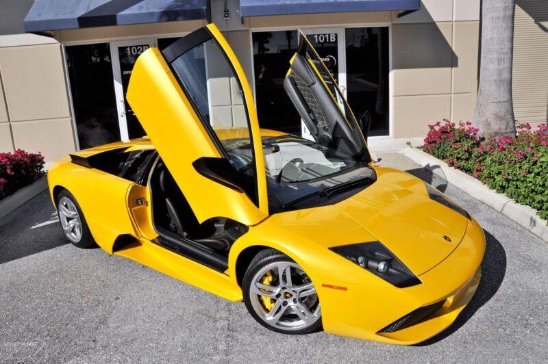 Image 2 Voiture Européenne d'occasion Lamborghini Murcielago 2008