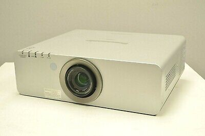 Panasonic PT-DW730 Projector HD DLP Video Home Theater Hrs: 5178 Lamps: 471 Hrs