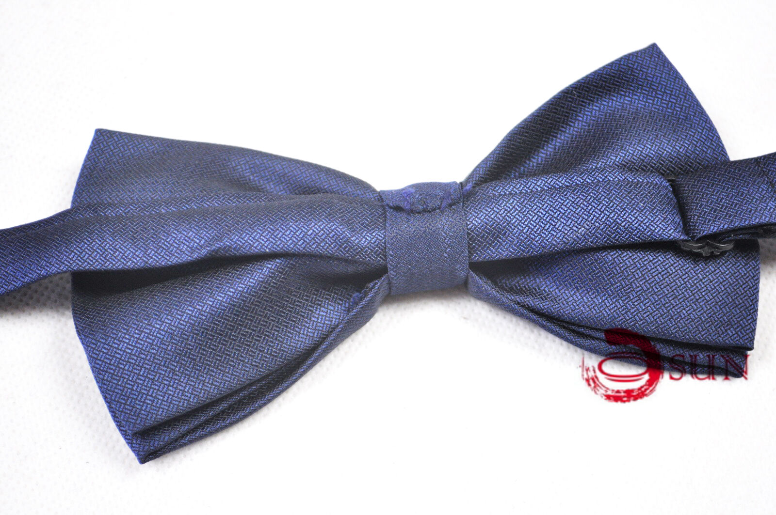 s unisex bowtie tuxedo bow tie navy blue colors