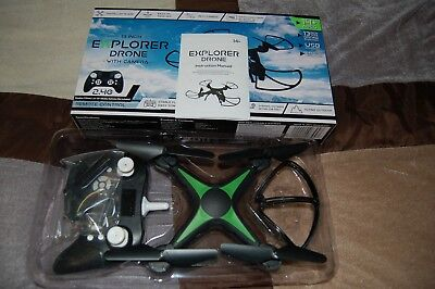 13 inch Explorer Drone with Camera (GREEN)