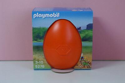 Playmobil 5278 Indianer Mädchen mit Waldtieren grosses Osterei Neu und OVP