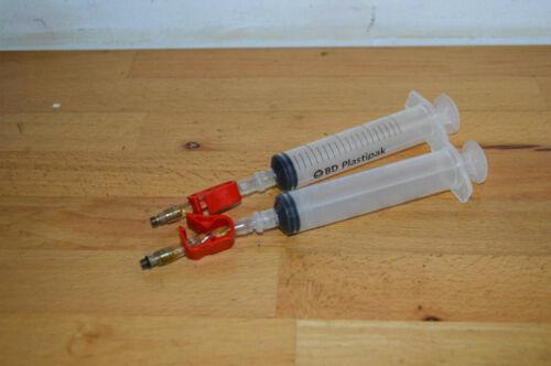 Avid bleedkit syringes