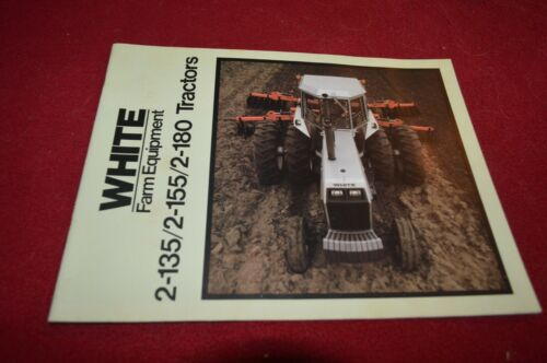 White 2-135 2-155 2-180 Tractor Dealer