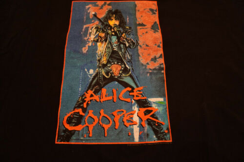 VINTAGE ALICE COOPER CONCERT T-SHIRT 2001 SIZE XL