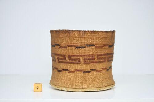 Fine Antique Northwest Coast Small Tlingit Basket
