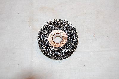 Weiler 2 Crimped Wire Wheel .014 Wire 38-12 Arbor 15473