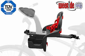 WeeRide Safe Baby Child Front Bike Cycle Seat EU approved No.1 sellling UK + US