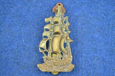 Lovely Very Rare Vintage Large Brass Ship Door Knocker RDL297