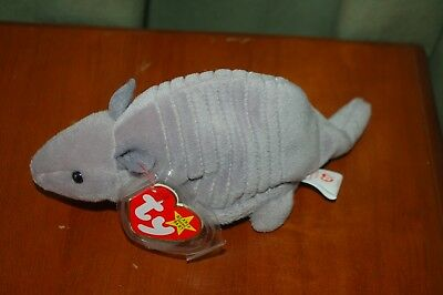 Used, TANK the ARMADILLO - Ty Beanie Baby - Shell   9 Plates  - MWMT  for sale  Rancho Cucamonga