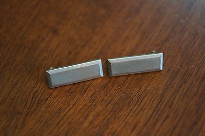 Military Bar Pins Silver Tone Unknown Year