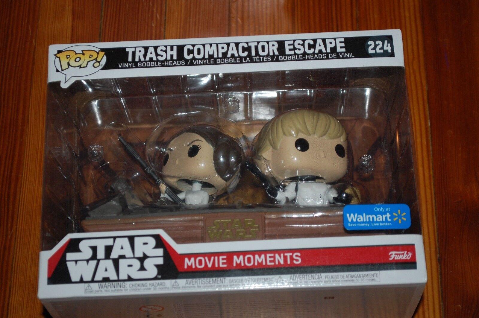 Trash Compactor Escape Leia Luke Bobble Heads-Star Wars Funk
