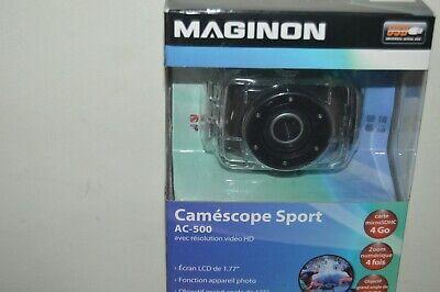Videocámara Sport maginon AC-500 Nueva Go Pro HD Cuerpo de Cámara Impermeable
