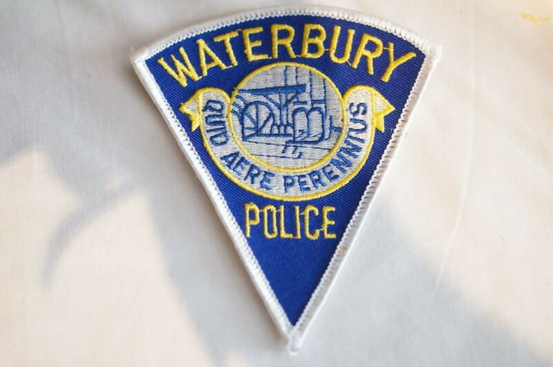 US Waterbury Connecticut Police Patch 2